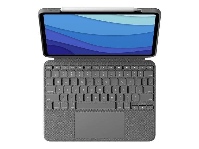 "Logitech Combo Touch for iPad Pro 1/2/3 Gen 11"""