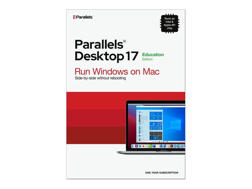 Parallels Desktop 17 1 år Prenumeration Retail Box Skolversion