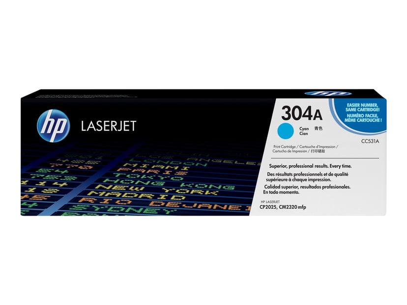 HP Toner Cyan 304A 2.8K - CC531A