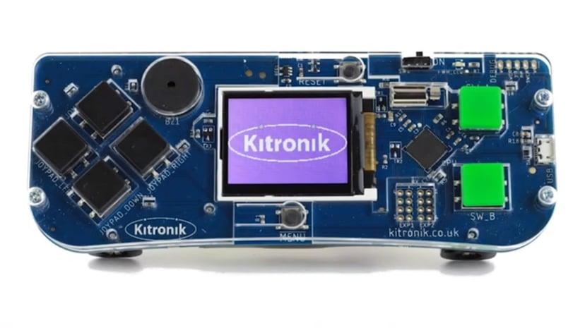 Kitronik Arcade För MakeCode Arcade Block Editor
