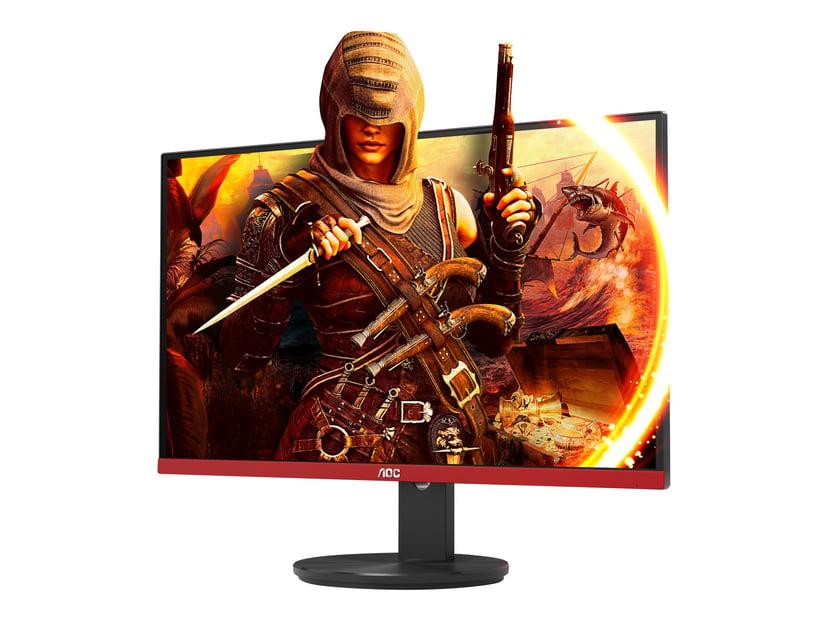"""AOC Gaming G2490VXA 24"""" FHD VA 16:9 Svart/Röd 24"""" 1920 x 1080 16:9"""