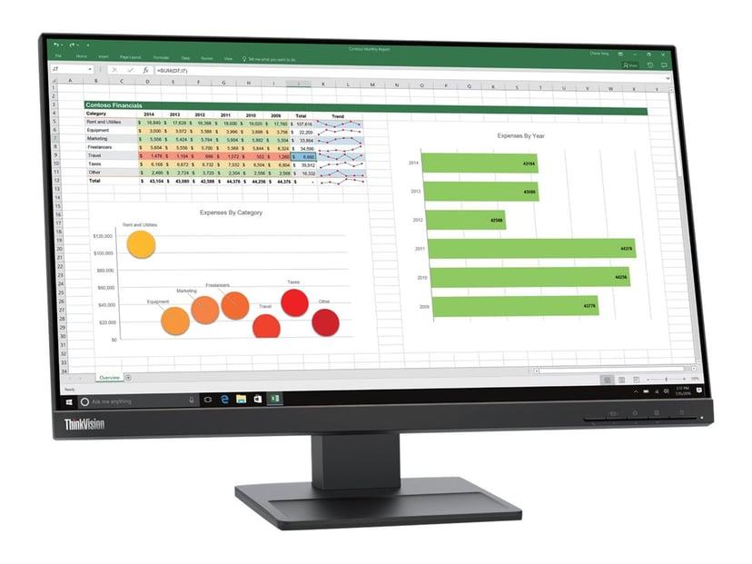"""Lenovo ThinkVision E24Q20 24"""" QHD IPS 16:9 24"""" 2560 x 1440 16:9"""
