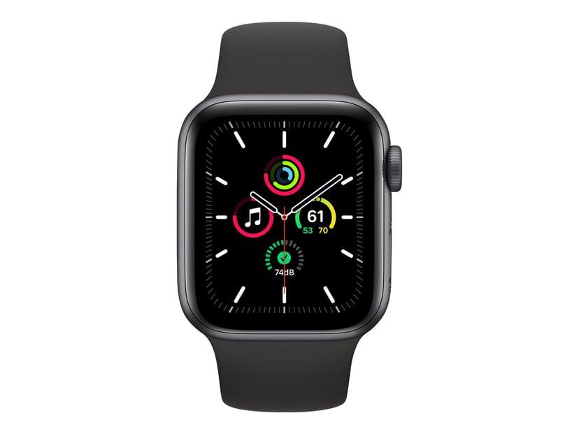 Apple WATCH SE 40MM GRAY ALU BLACK SPORT BAND #demo