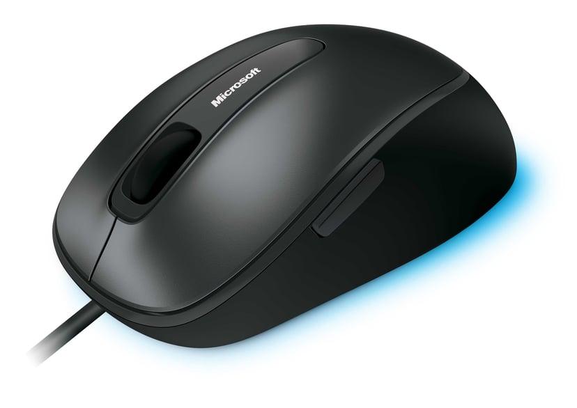 Microsoft Comfort Mouse 4500 1,000dpi Muis Met bekabeling Zwart