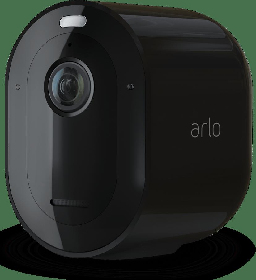 Arlo Pro 4 Trådlös Säkerhetskamera Svart 1-Pack