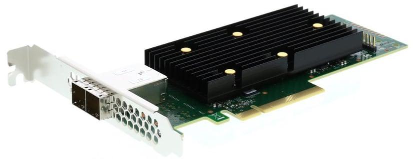 LSI SAS 9400-8e 2x Mini-SAS HD PCie x8 Controller Card PCIe 3.1 x8 LSI