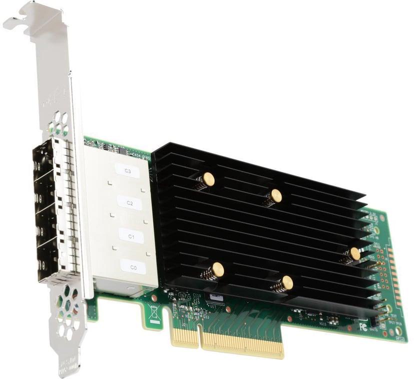 LSI SAS 9400-16e 4x Mini-SAS HD PCie x8 Controller Card PCIe 3.1 x8 LSI