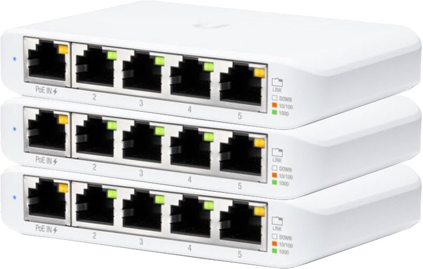 Ubiquiti UniFi USW Flex Mini 3-pack
