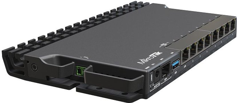 Mikrotik RB5009UG+S+IN Heavy-duty Home Lab Router
