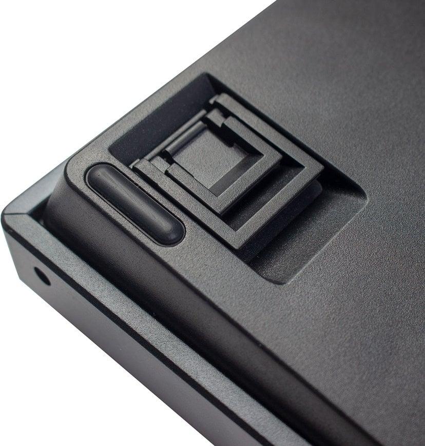 Keychron K2 RGB Aluminum Hot-Swap Brown (Version 2) Tangentbord Kabelansluten, Trådlös Nordisk Grå, Svart