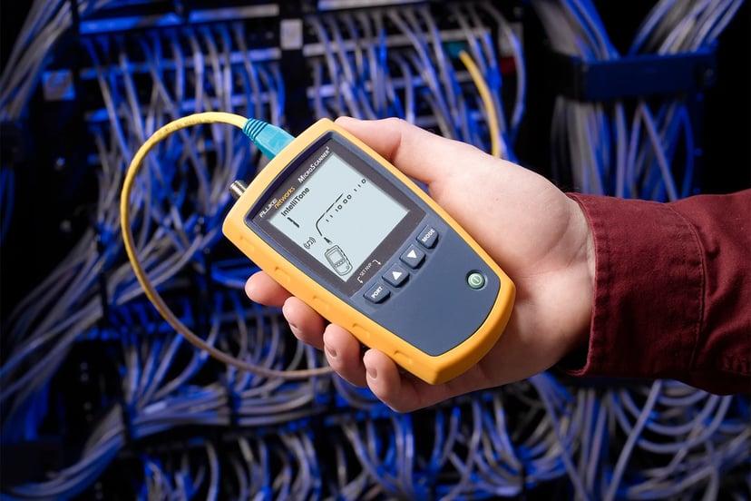Fluke Networks MicroScanner PoE Cable Verifier