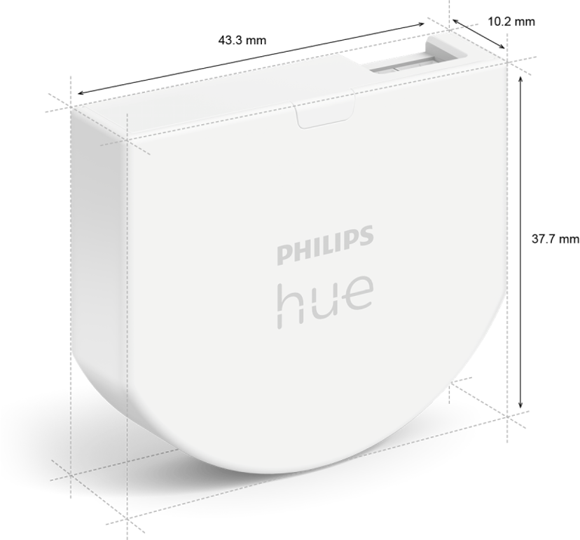 Philips Hue Väggswitch 1-pack