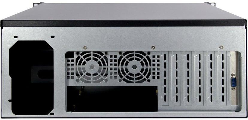 Inter-Tech 4U 4452-TFT Rackchassi med inbyggd skärm/tangentbord
