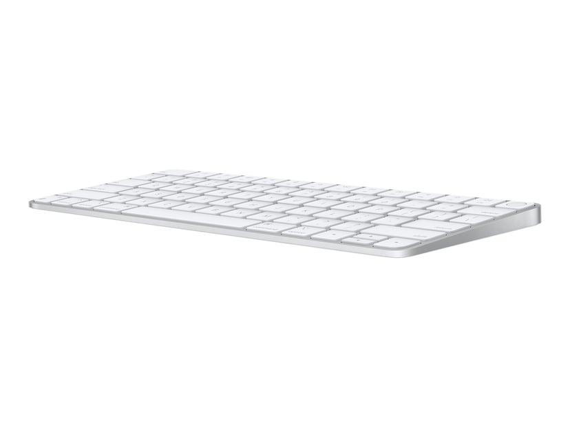 Apple Magic Keyboard with Touch ID (2021) Tangentbord Trådlös Svensk Silver, Vit