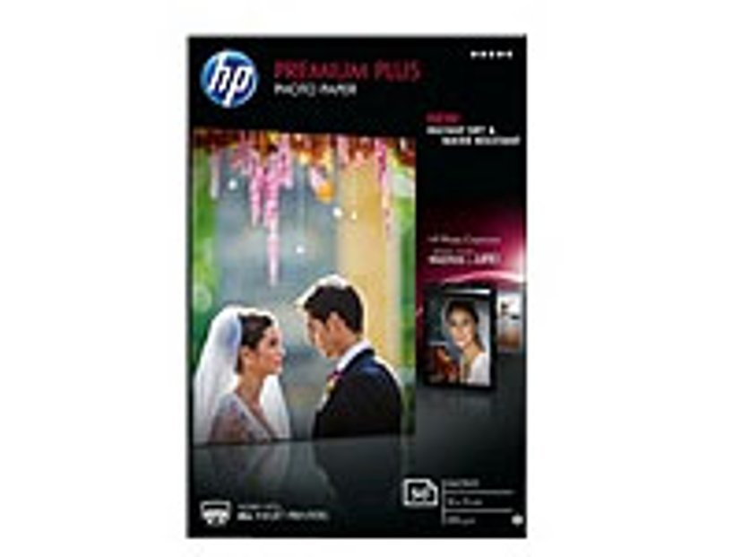 HP Premium+ Glossy Photo Paper 10x15cm 300g 50 Sheet