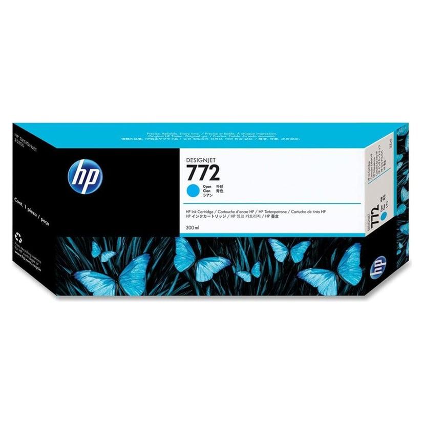 HP Blæk Cyan No.772 - DESIGNJET Z5200PS