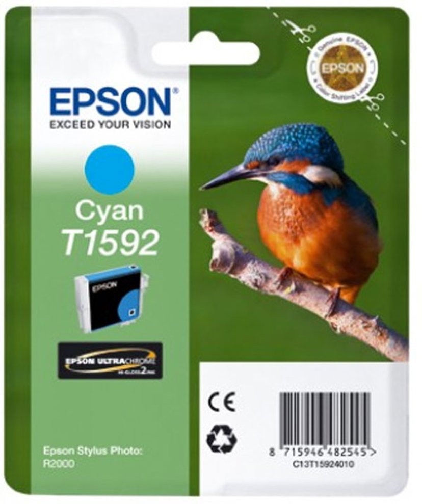 Epson Blekk Cyan T1592 - R2000