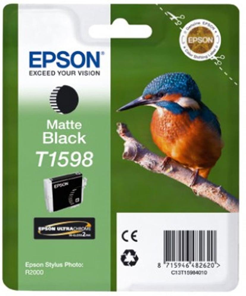 Epson Blekk Svart T1598 - R2000