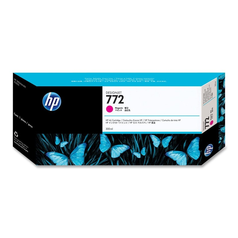 HP Blekk Magenta No.772 - DESIGNJET Z5200PS