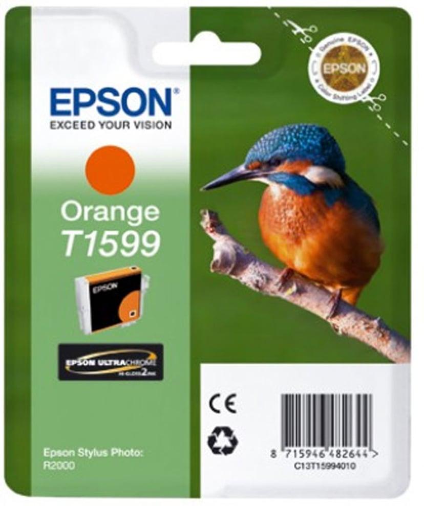 Epson Blekk Orange T1599 - R2000