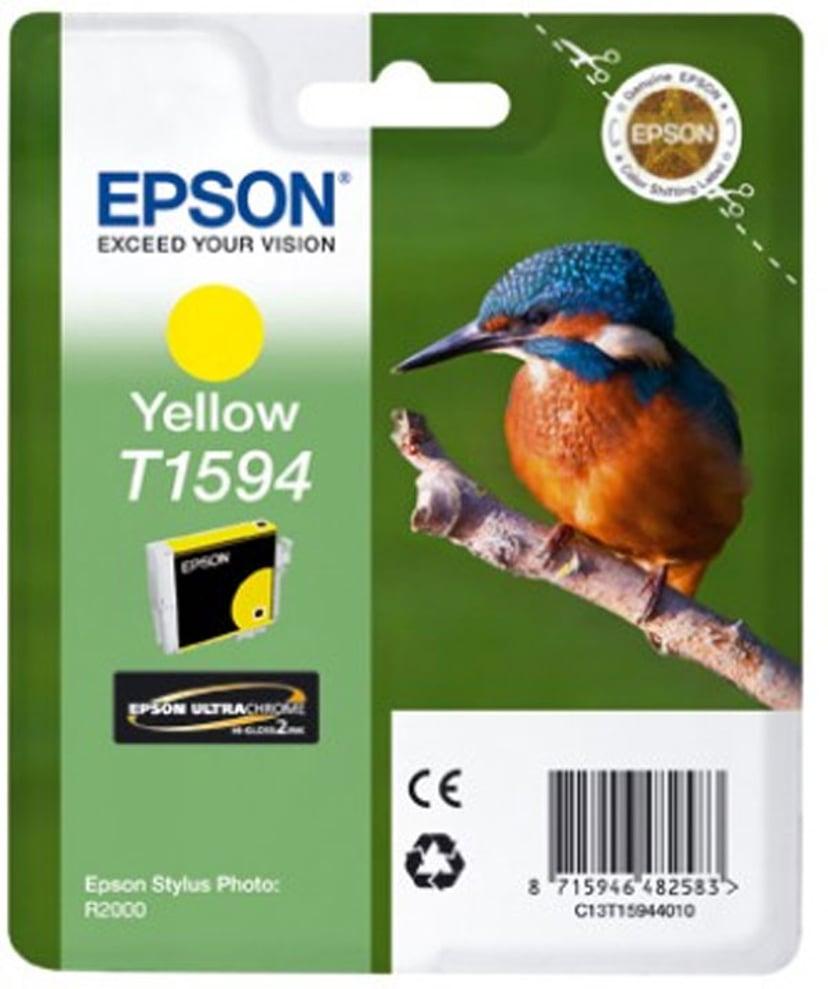 Epson Muste Keltainen T1594 - R2000