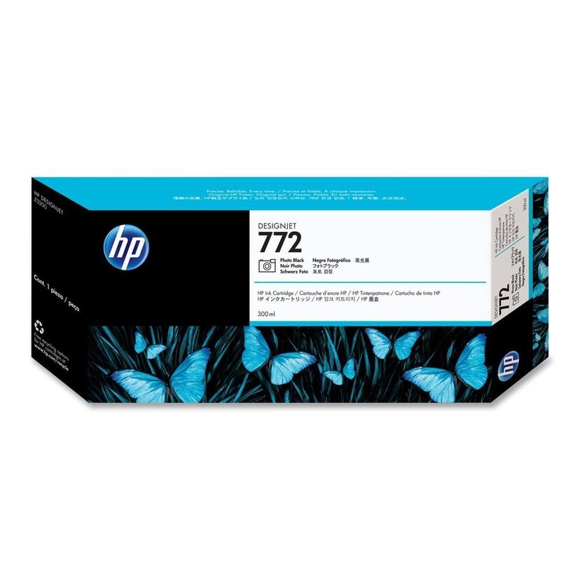 HP Muste Kuva Musta No.772 - DESIGNJET Z5200PS