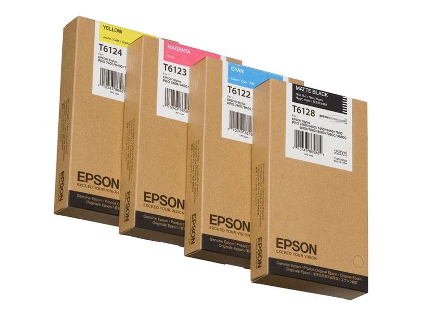 Epson Blekk Gul 220ml - STYLUS PRO 7400