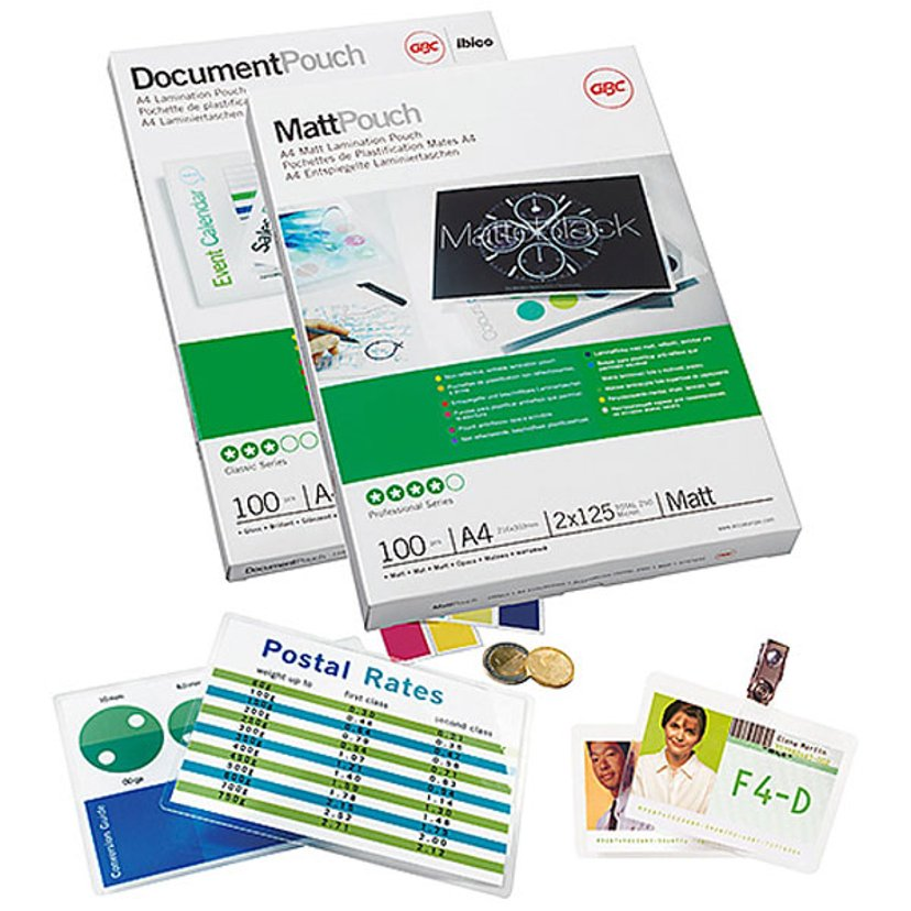 GBC GBC Document Laminating Pouch