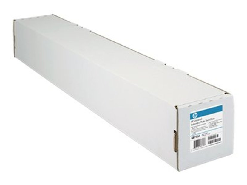 "HP Papir Univ In-Dry Semi-Gloss 24"" Rulle 30,5m 190g"