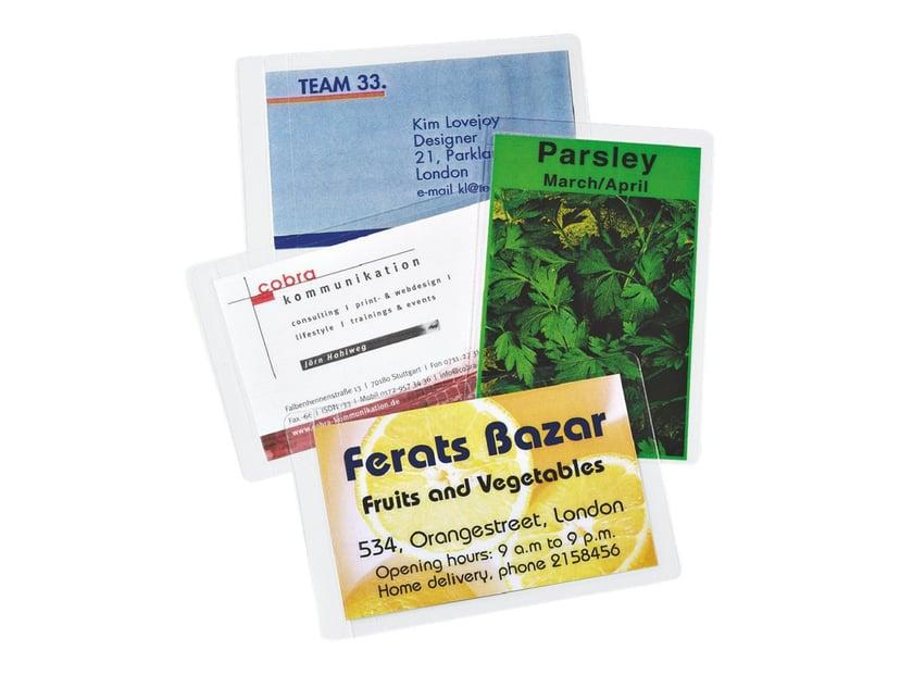 Leitz Lamineringsficka Kreditkort 125mic 54x86 100st