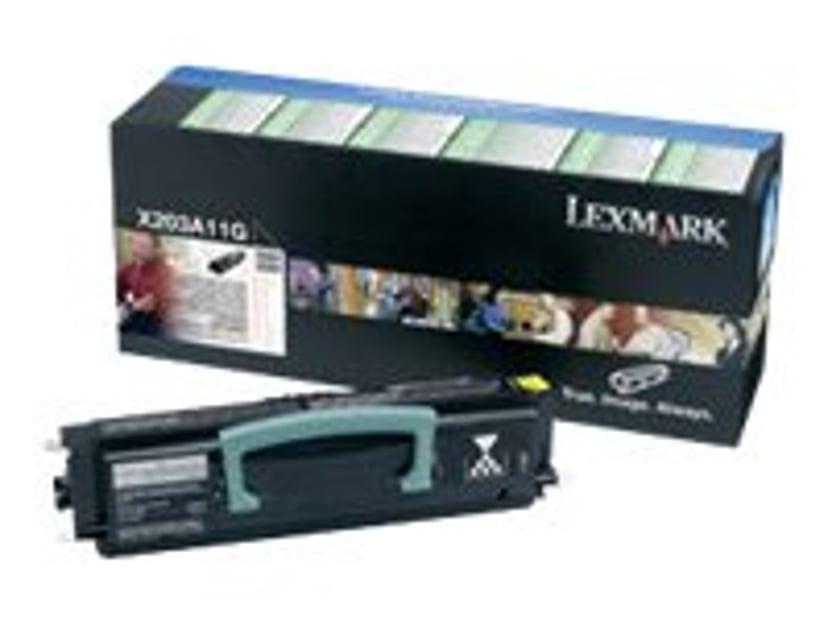 Lexmark Toner Svart Return PROGRAM - X203A11G
