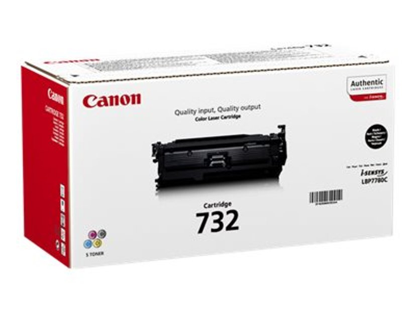 Canon Värikasetti Musta 732, 6,1k - LBP7780CX