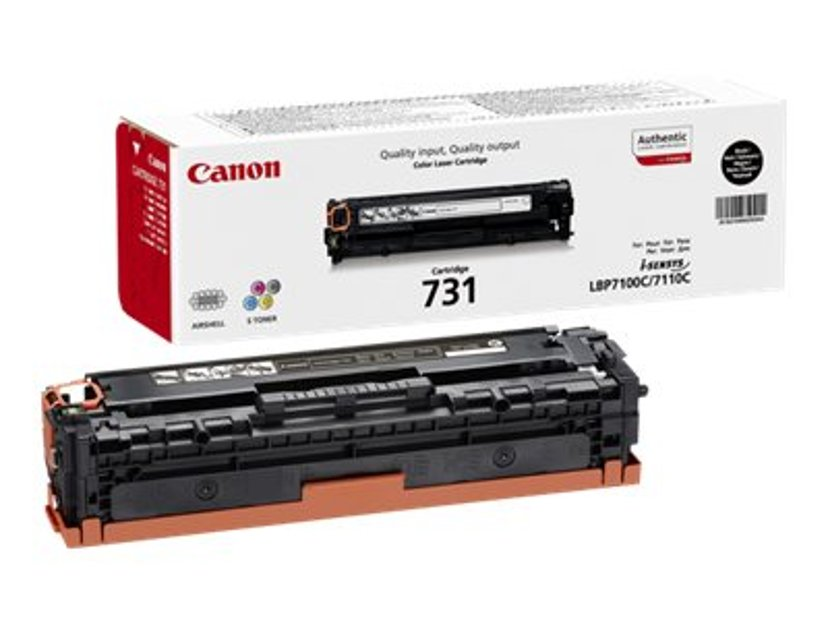 Canon Toner Svart 731 1,4k - LPB-7100CN