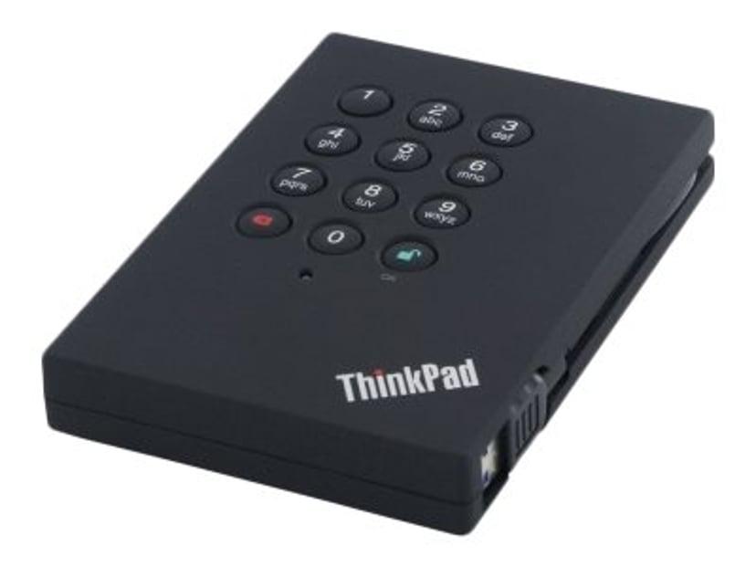 Lenovo ThinkPad Säker Hårddisk 1TB USB 3.0 1TB USB 3.0