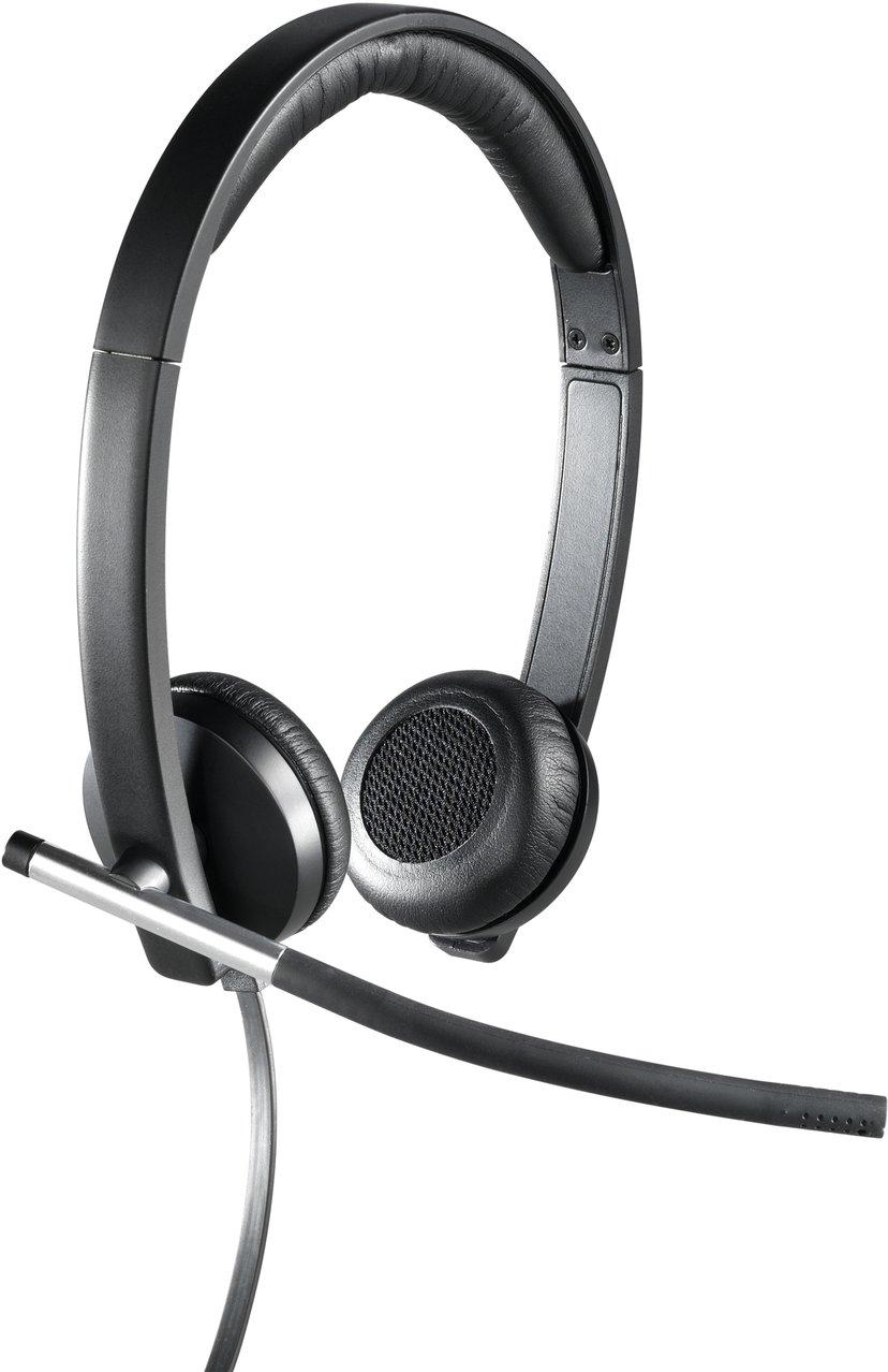 Logitech USB Headset Stereo H650e Svart