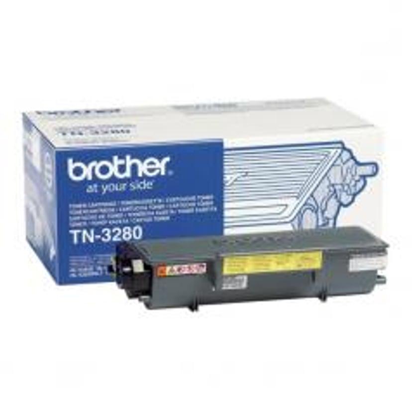 Brother Värikasetti Musta TN-3280 8k