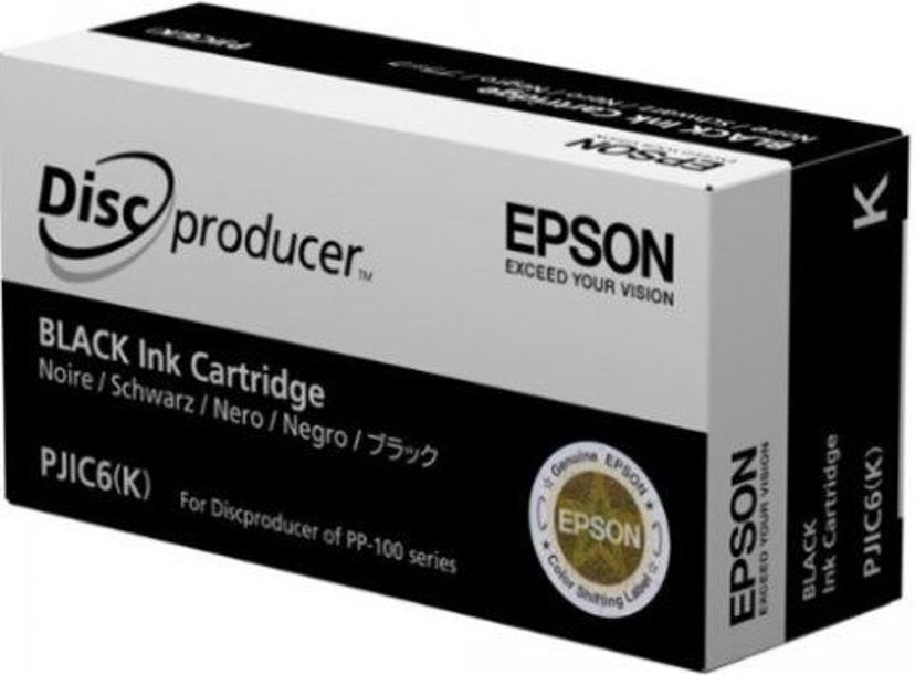 Epson Blæk Sort - Discproducer