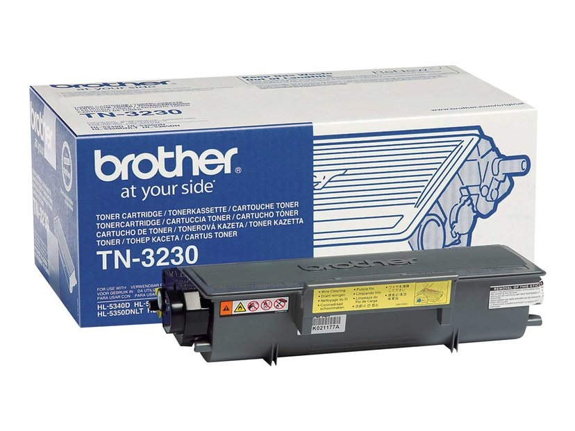 Brother Toner Svart TN-3230 3k