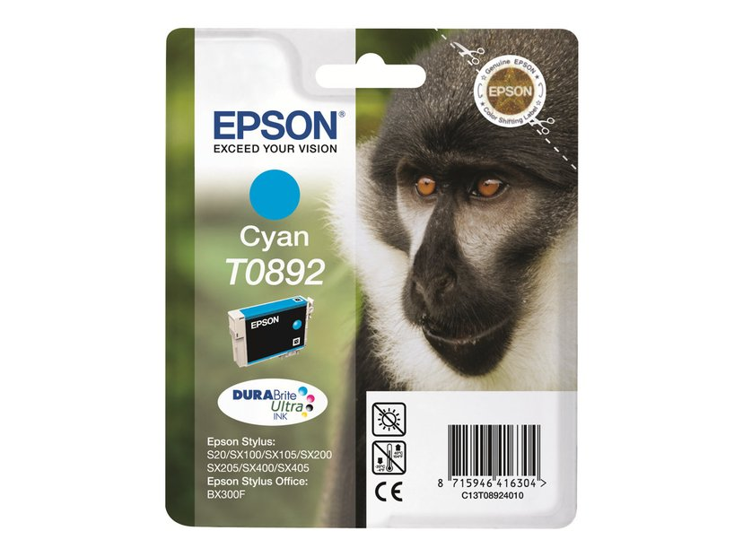 Epson Blekk Cyan T0892 - SX100/SX105
