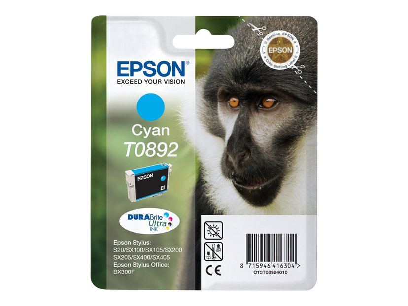 Epson Bläck Cyan T0892 - SX100/SX105