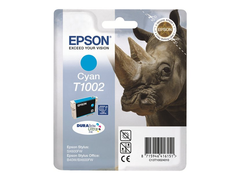 Epson Muste Syaani T1002 - BX600