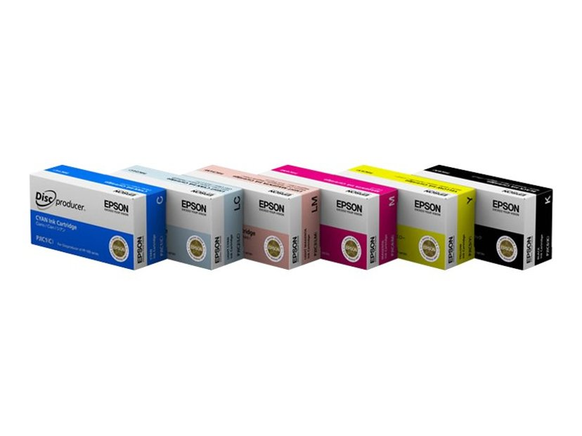 Epson Inkt Cyaan - Discproducer