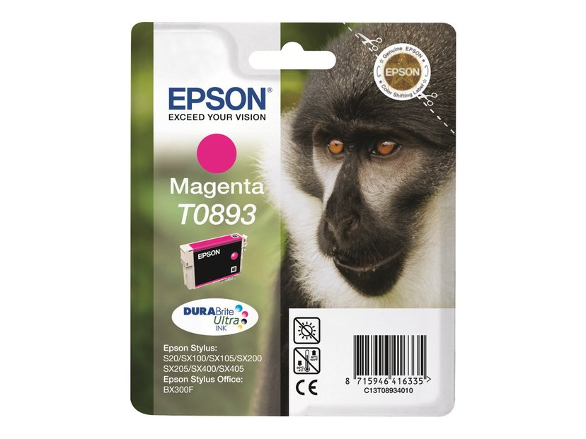 Epson Blekk Magenta T0893 - SX100/SX105