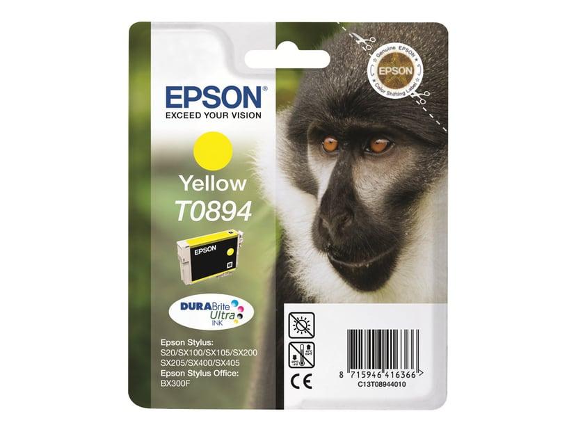 Epson Muste Keltainen T0894 - SX100/SX105
