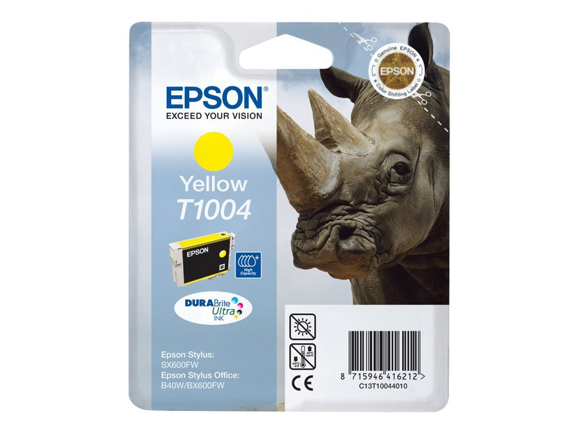 Epson Bläck Gul T1004 - BX600