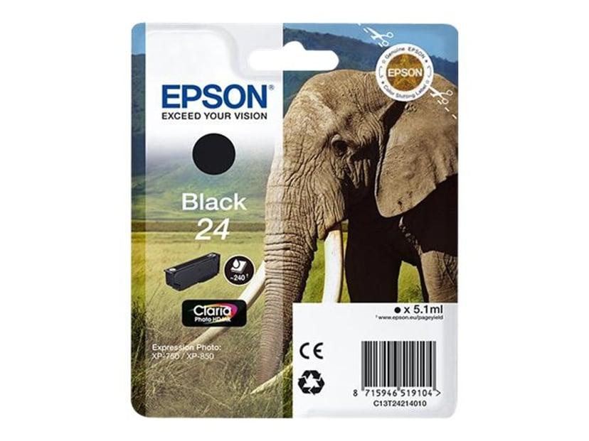 Epson Bläck Svart 24 - XP-850