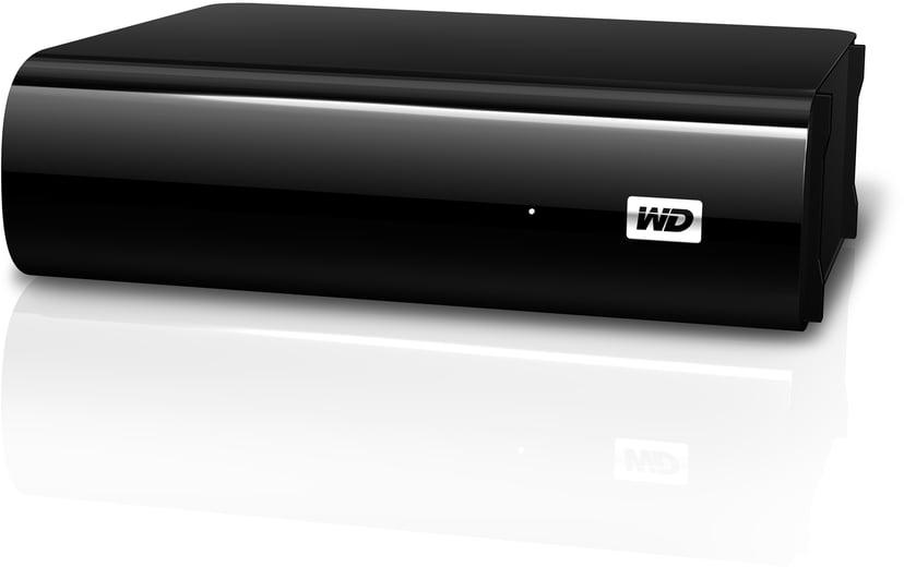 WD MyBook AV-TV 2TB Sort
