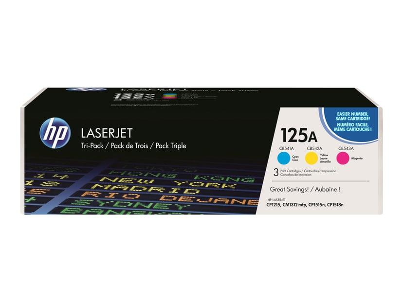 HP Toner Kit 125A (C/Y/M) 1.4K - CF373AM