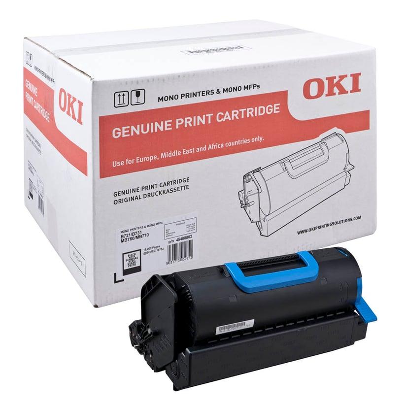 OKI Toner Svart 18k - B721/B731