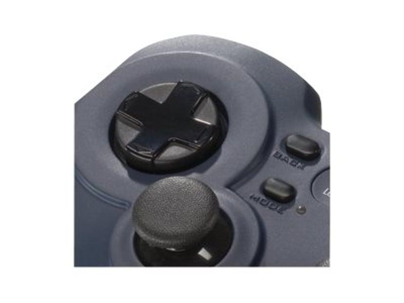 Logitech Gamepad F310 Blå, Svart